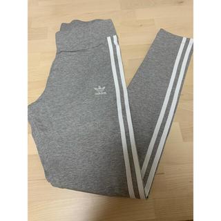 アディダス(adidas)のアディダス レギンス グレー(レギンス/スパッツ)