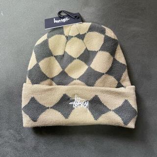 STUSSY - stussy DIAMOND CUFF BEANIE ビーニー ニット帽