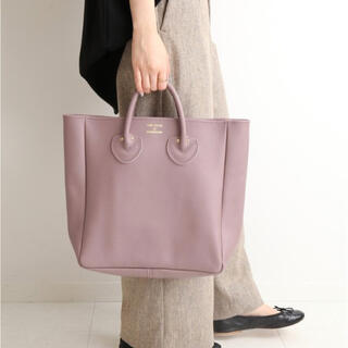 IENA - YOUNG & OLSEN EMBOSSED LEATHER TOTE Mサイズ