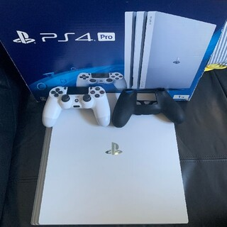 PlayStation4 - 希少美品 PS4 Pro ホワイト 1TB (CUH-7200BB02)