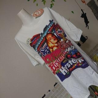 ヒステリックグラマー(HYSTERIC GLAMOUR)のヒステリックグラマー 新品 ガール ロゴ BIG Tシャツ(Tシャツ(半袖/袖なし))