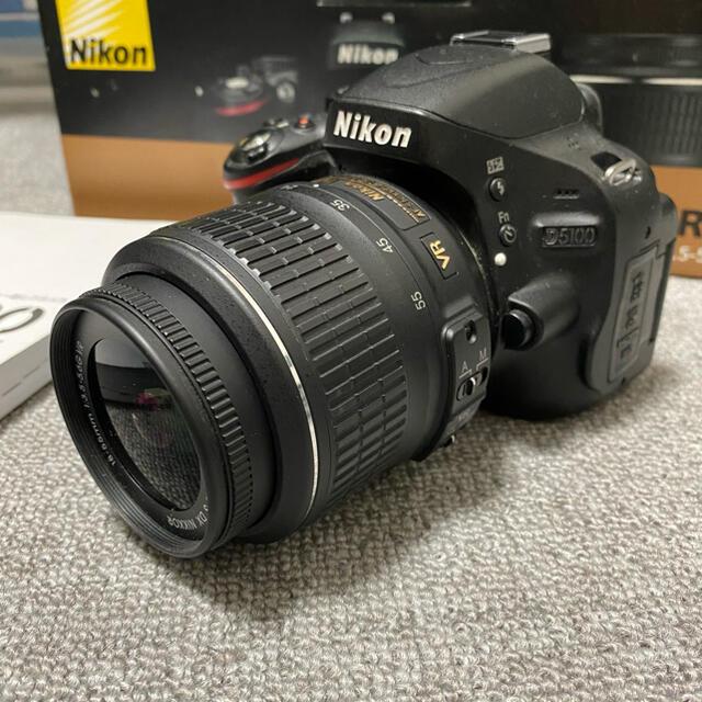 Nikon(ニコン)の完動品★Nikon  D5100 18-55 VR ★一眼レフカメラ スマホ/家電/カメラのカメラ(デジタル一眼)の商品写真