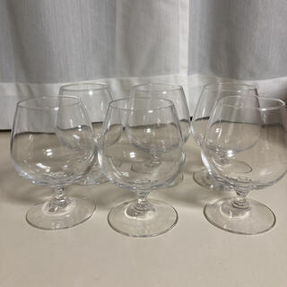 トウヨウササキガラス(東洋佐々木ガラス)の未使用 ブランデー グラス 225ml 6個入り デザートグラス(グラス/カップ)