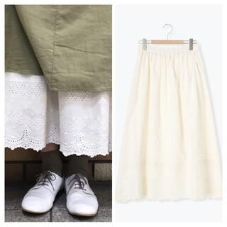 SM2 - サマンサモスモス*スカラップペチスカート