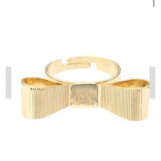メゾンドフルール(Maison de FLEUR)の3/5削除!canone 束縛代わりのリボンリング(リング(指輪))