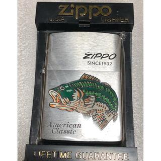 ジッポー(ZIPPO)のZIPPO ビンテージ ブラックバス(タバコグッズ)