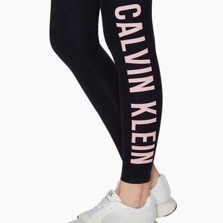 シーケーカルバンクライン(ck Calvin Klein)のCALVIN KLEIN カルバンクライン アンクル丈 レギンス サイズS(エクササイズ用品)