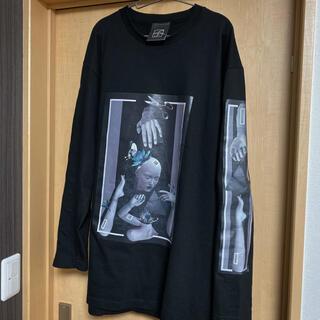 Yohji Yamamoto - 希少 レア 歪 Hizumi ロングTシャツ