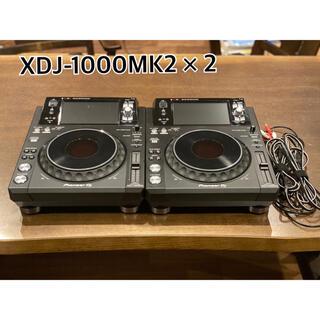 パイオニア(Pioneer)のXDJ-1000MK2  2台(CDJ)