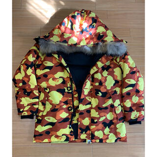 A BATHING APE - アベイシングエイプ /1st CAMO DOWN JACKET