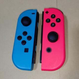 Nintendo Switch - 純正 Joy-Con (L) /(R) ネオンブルー ネオンレッド  ジョイコン