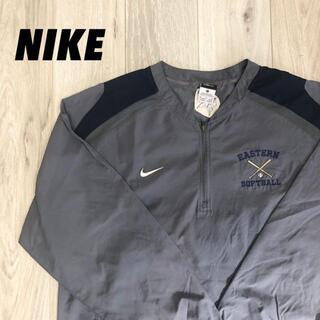 NIKE - 【美品】一点物 NIKE ナイロンジャケット 企業ロゴ