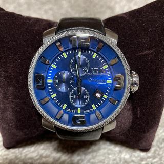 アイティーエー(I.T.A.)のクール【美品‼️】I.T.A.⭐️カサノバクロノ ブルー アイティーエー 腕時計(腕時計(アナログ))