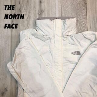 THE NORTH FACE - 【美品】ノースフェイス ホワイトナイロンジャケットパーカー