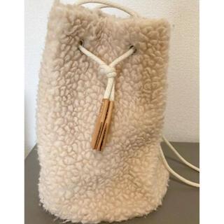 UNITED ARROWS - TEMBEA  テンベア ユナイテッドアローズ ボアショルダーハンドバッグ 美品