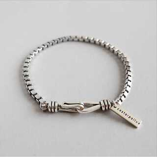 アダムエロぺ(Adam et Rope')の#751 import bracelet : eternity S925(ブレスレット/バングル)