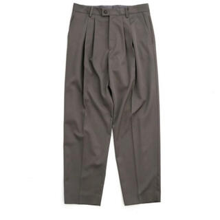 SUNSEA - 【stein】WIDE TAPERED TROUSERS