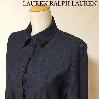 ラルフローレン(Ralph Lauren)のLAUREN RALPH LAUREN ラルフローレン デニムワンピース(ロングワンピース/マキシワンピース)