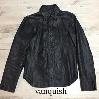 ヴァンキッシュ(VANQUISH)のvanquish ヴァンキッシュ バンキッシュ レザー シャツ トルネードマート(シャツ)