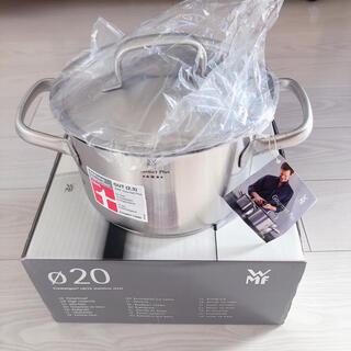 ヴェーエムエフ(WMF)のWMF 20センチ両手鍋(鍋/フライパン)