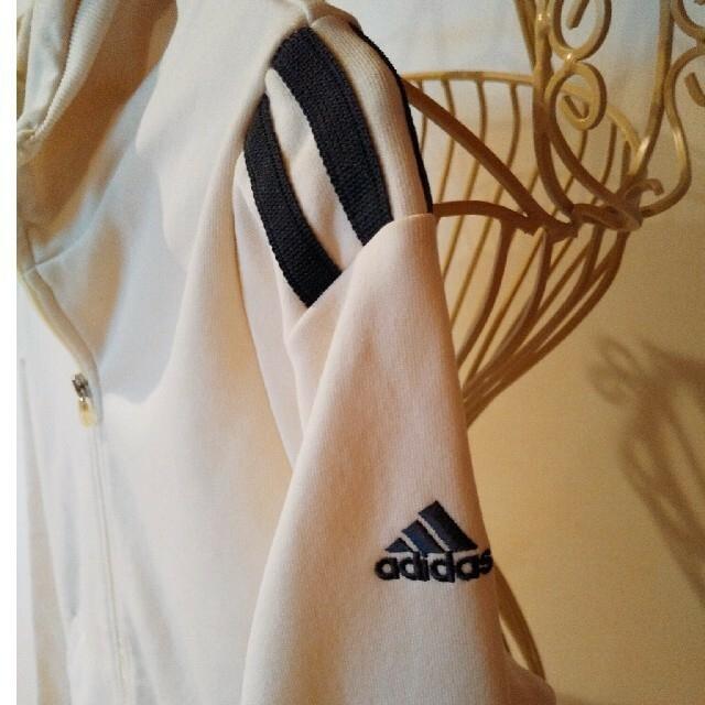 adidas(アディダス)のお値下げ★adidas アディダスパーカー Lサイズ レディースのトップス(パーカー)の商品写真