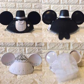 ディズニー(Disney)の香港ディズニー♡即日発送✨ミッキー&ミニーウェディング イヤーハット(ハット)