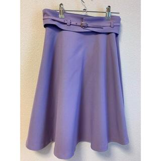 PROPORTION BODY DRESSING - コルセットベルト付き フレアスカート 定価1万円