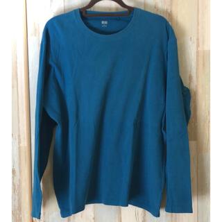 UNIQLO - 【激安】ユニクロ ロンT 長袖Tシャツ カットソー 長袖 XL
