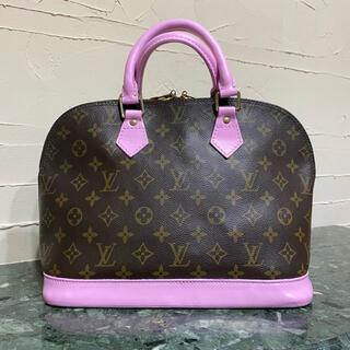 ルイヴィトン(LOUIS VUITTON)のLouis Vuitton モノグラムライン アルマPM ハンドバッグ ピンク(ハンドバッグ)