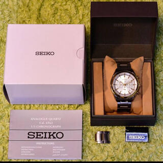SEIKO - ほぼ新品セイコーSSB090逆輸入6T63日本製ムーヴメント生産完了絶版モデル