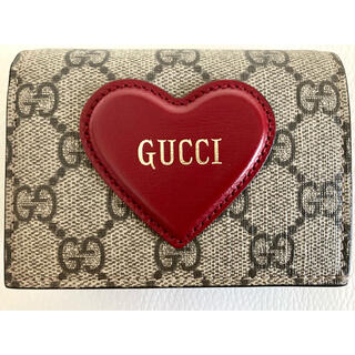 Gucci - 【希少】GUCCI  グッチ バレンタイン限定コレクション 財布 二つ折り財布