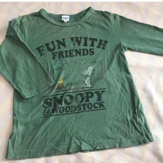 シップスキッズ(SHIPS KIDS)のSHIPS  スヌーピー  7分丈 Tシャツ  130  シップス(Tシャツ/カットソー)
