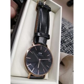 ダニエルウェリントン(Daniel Wellington)のダニエルウェルトン ブラック 40mm 時計(腕時計(アナログ))