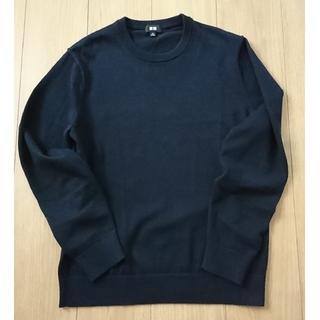 UNIQLO - UNIQLO スーピマコットン クルーネック セーター Mサイズ