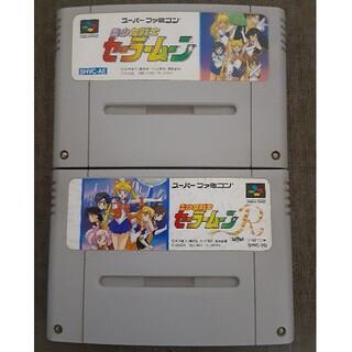 スーパーファミコン(スーパーファミコン)のSFCスーパーファミコンソフト 美少女戦士セーラームーン2本セット(家庭用ゲームソフト)