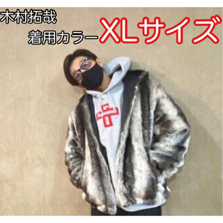 Supreme - 【極美品】Faux Fur Reversible Hooded Jacket