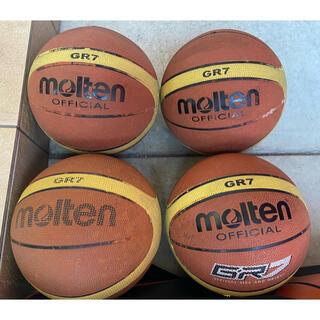 モルテン(molten)のバスケットボールジャグリングセット【molten7号ボールx4個】(バスケットボール)