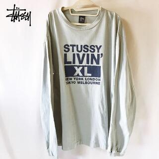 STUSSY - 【STUSSY】ステゥーシー プリント Livin XL Block ロングT