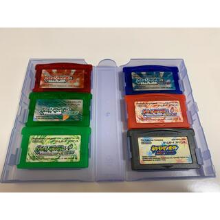 ゲームボーイアドバンス(ゲームボーイアドバンス)のGBAソフト まとめ売り ポケモン ルビー&サファイアなど(携帯用ゲームソフト)