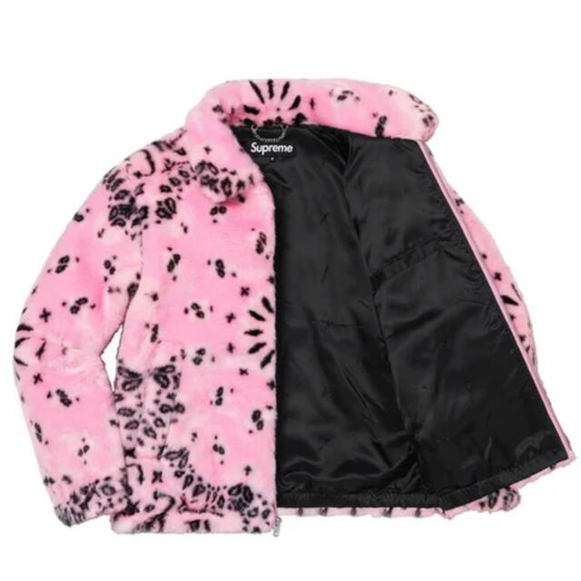 Supreme(シュプリーム)の【M】Supreme Bandana Fur シュプリーム バンダナ ファー メンズのジャケット/アウター(その他)の商品写真