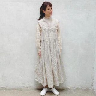 SM2 - kazumiさんコラボワンピースベージュ