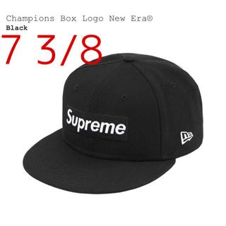 シュプリーム(Supreme)のSupreme Champions Box Logo New Era キャップ(キャップ)