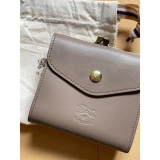 IL BISONTE - トルトラ イルビゾンテ  がま口二つ折り財布 スムースレザー タイプ 新品