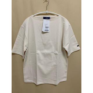 SAINT JAMES - セントジェームス ウェッソン半袖Tシャツ ECRU  T4