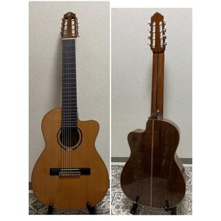 ORTEGA オルテガ RCE159-8 8弦 クラシックギター エレガット(クラシックギター)