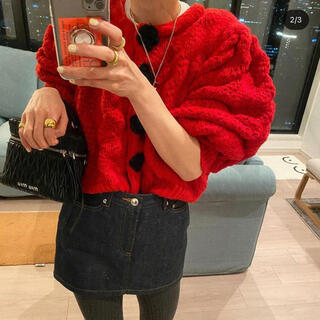 TODAYFUL - MODUE EOS flower button knit cardigan