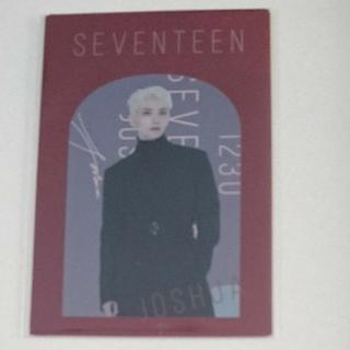 セブンティーン(SEVENTEEN)のSEVENTEEN WINTER KUJI/D賞 カードセット/ジョシュア(その他)