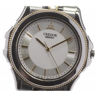 セイコー(SEIKO)のセイコー クレドール K18YGベゼル 9581-6040 メンズ 【中古】(腕時計(アナログ))