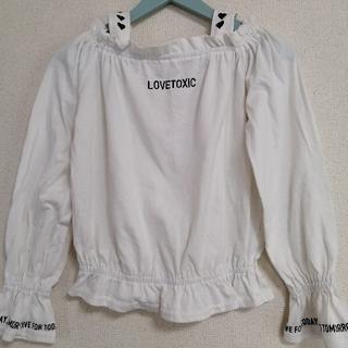 lovetoxic - ラブトキシック カットソー 白