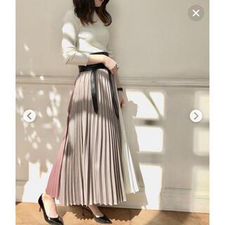ラウンジドレス(Loungedress)の安室奈美恵さん着用ラウンジドレスプリーツスカート(ロングスカート)